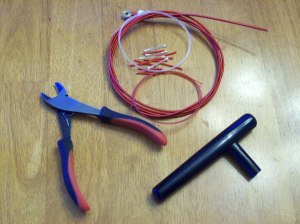 Harp Stringing tools
