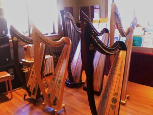 Lever Harp Lineup at Lyon & Healy West